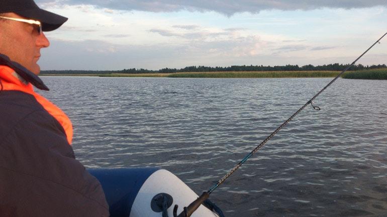 Рыбалка в Назии летом