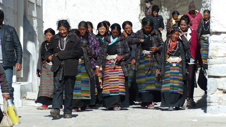 Простые люди Тибета