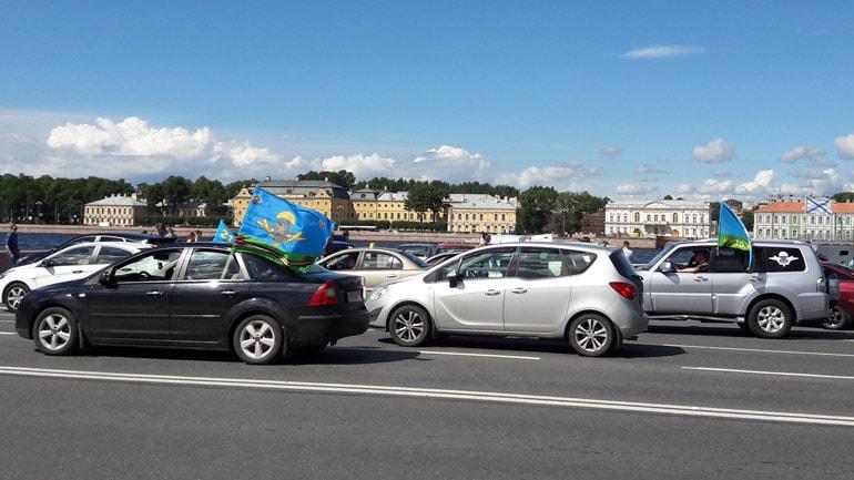 День ВДВ в Санкт-Петербурге