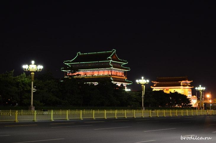Ночь в столице