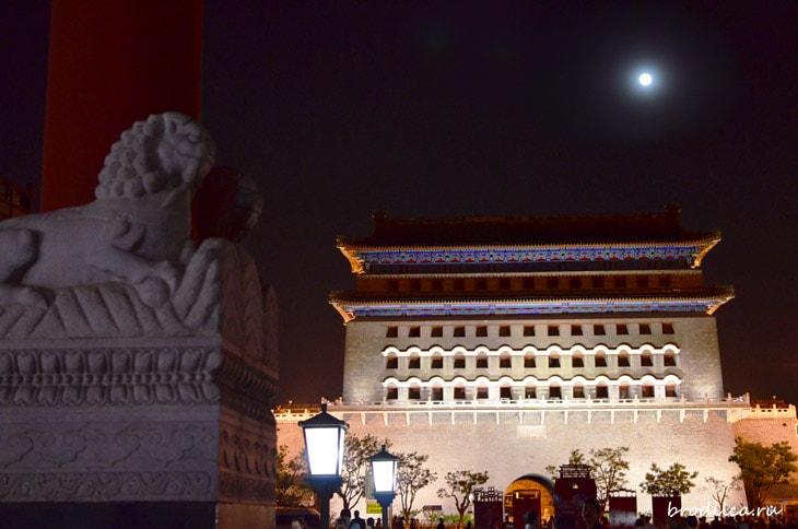 Ночь над башней