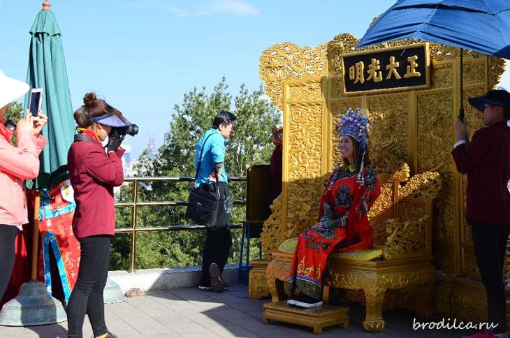 Фото в китайском костюме