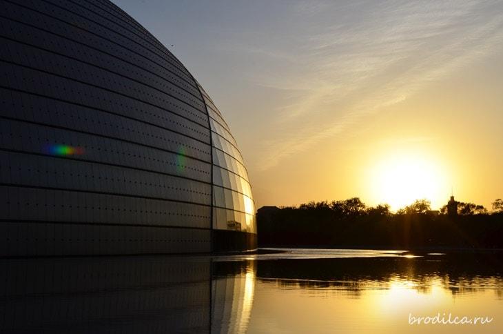 Солнце в стеклянном куполе
