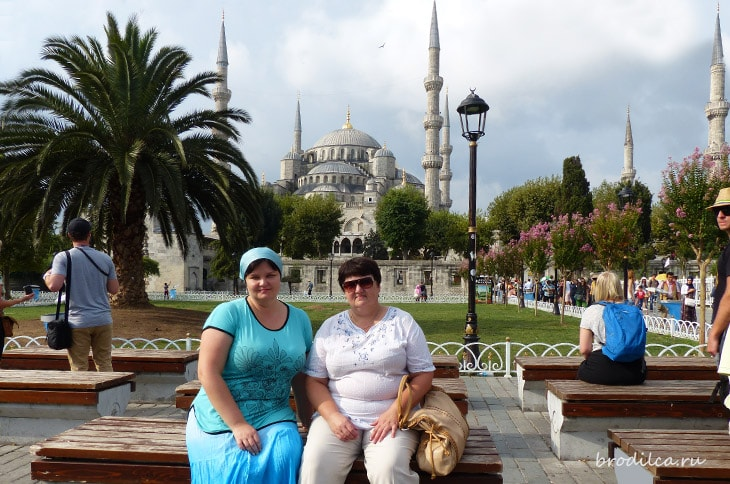 Поездка на «берег турецкий»