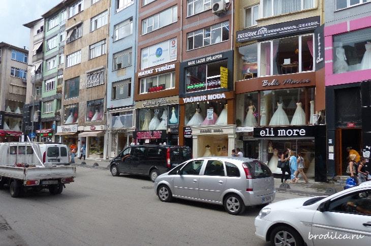 Направленность улиц