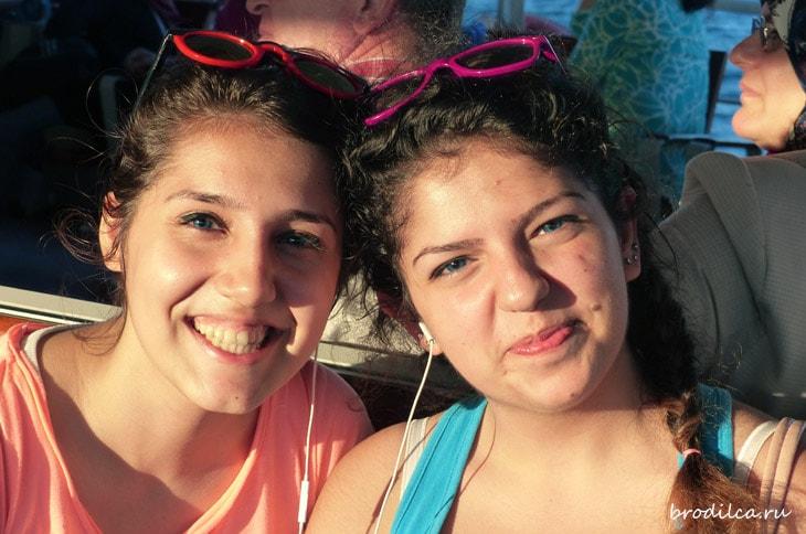 Стамбульские девушки