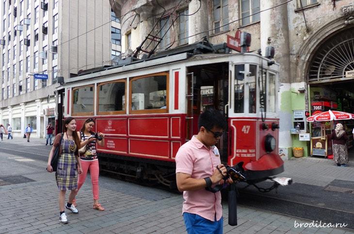 Трамвайчики в Стамбуле