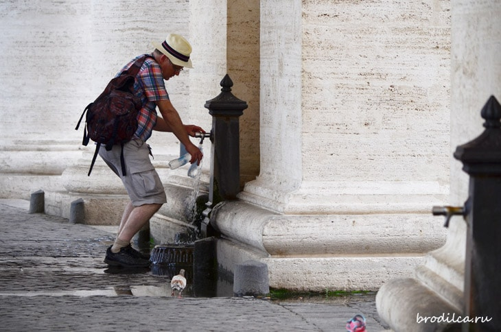 Вода в Риме