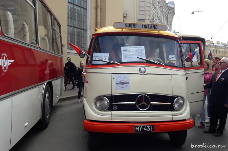 Автобус из Финляндии