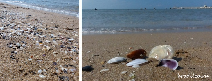 Чистейший пляж