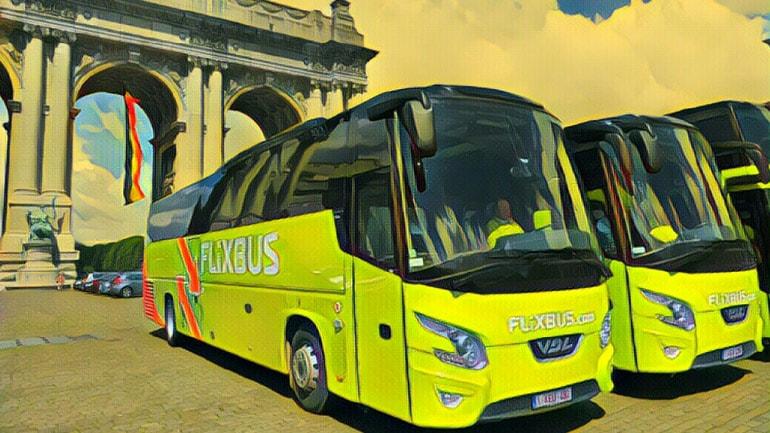 Купить билет на автобус в Европе онлайн