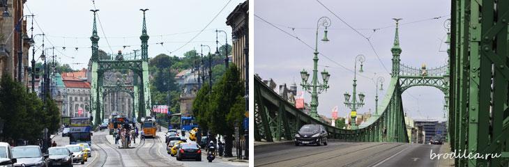 Конструкция моста ажурна