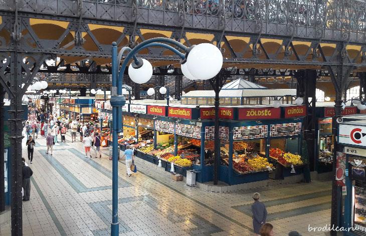 Первый этаж рынка