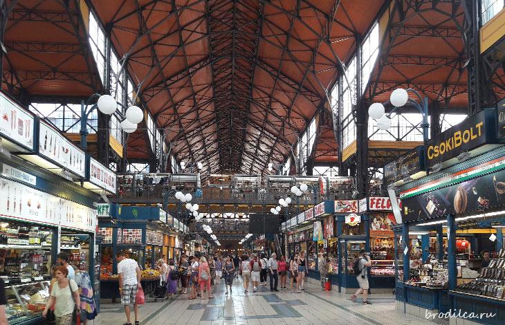 Рынок Будапешта