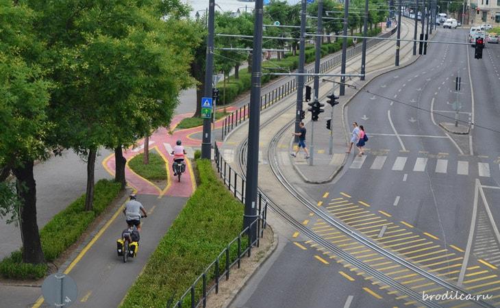 Велосипедные полосы