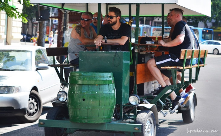 Поездка на «Beer-bike»
