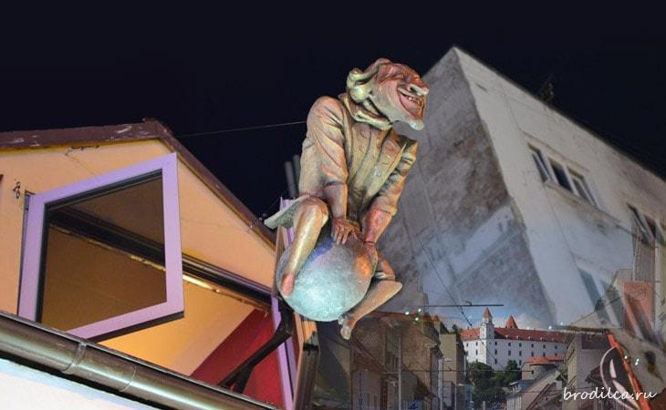 Бронзовые жители Братиславы
