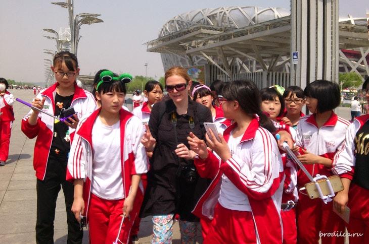 Убегаю от китайских школьников