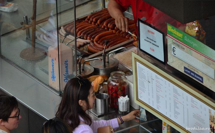 Киоски по продаже колбасок